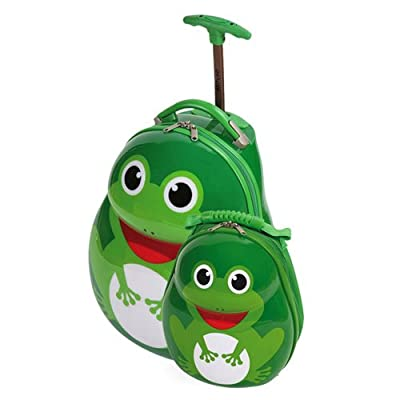 Skykidz Frog with free matching bacpack 2086 from Skyflite Luggage Ltd