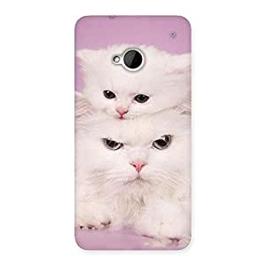 Special Kitty Family Back Case Cover for HTC One M7