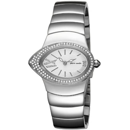 Pierre-Cardin-Womens-Quartz-Watch-Loeil-PC104312F02-with-Metal-Strap