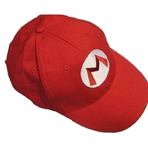 Nintendo Mario Bro: RedBaseball Cap Mario Hat Red, OneSize (Super Mario Brothers compare prices)