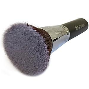 Premium Foundation Makeup Brush - Flat Top Kabuki Great for Blending Liquid, Cream & Mineral Cosmetics or Translucent Powder