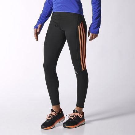 adidas Response Long Tight da Donna Nero nero XS / S
