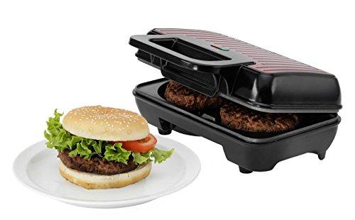 Melissa - American Diner Hanburgermaker - Machine pour cuire des steaks parfaits