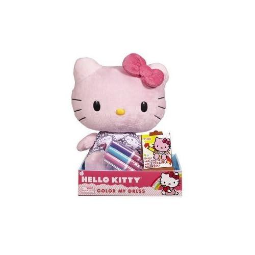 Jakks Pacific   Sanrio Hello Kitty Plush   PINK (Color My Dress   10 inch)