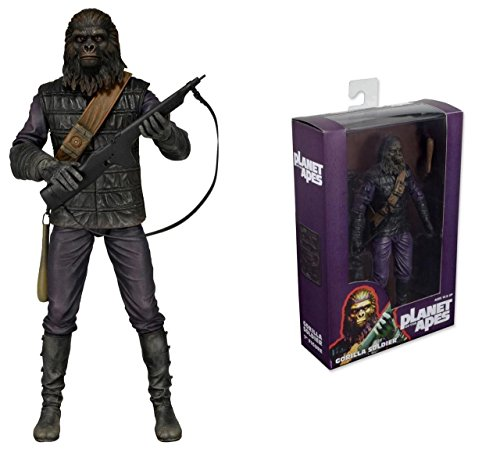 Gorilla Soldier Planet of the Apes Series 1 NECA 7 Inch Figure