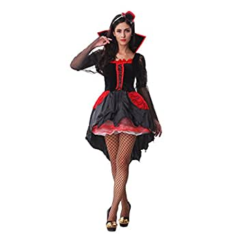 ladies midnight vamp halloween fancy dress. Black Bedroom Furniture Sets. Home Design Ideas