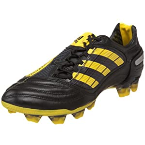 adidas Men's Predator_X Fg Soccer Shoe,Black/Sun/Metallic Silver (WC),6.5 D US