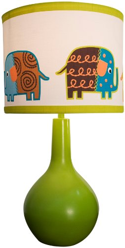 Zutano Elephants Lamp Base And Shade front-67846