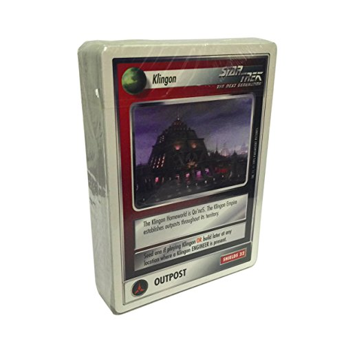 Star Trek CCG - 60 Card Klingon Promo Starter Deck from Customizable Card Game by Decipher