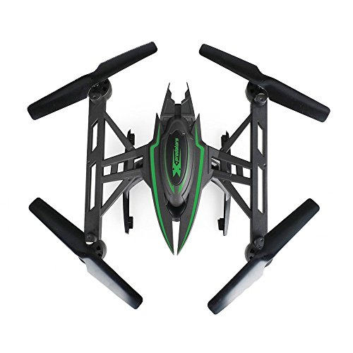 JXD-510G-X-predators-Quadrocopter-Drohne-58Ghz-FPV-Monitor-2-MP-Kamera-Hold-Funktion-incl-Copter-Card