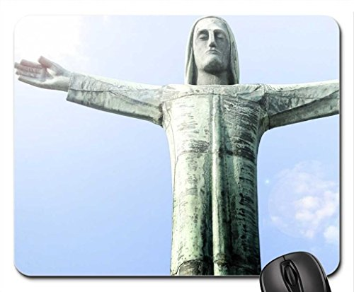 Redeemer Mouse Pad, Mousepad (Religious Mouse Pad)