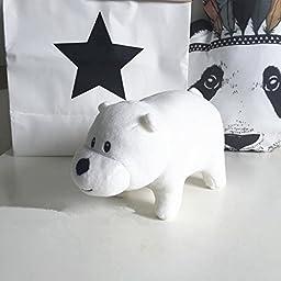 We Bare Bears Plush Toy Doll Christmas Gift Custom b2 (16\