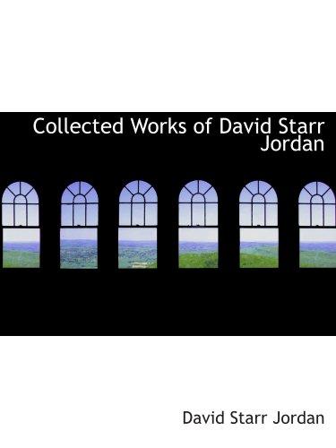 Œuvres de David Starr Jordan