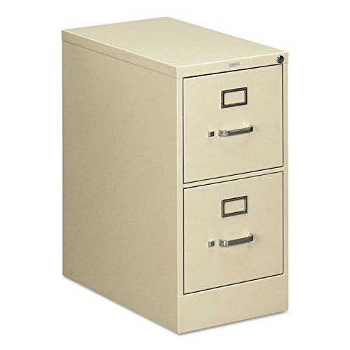 HON 512PL 510 Series 29 by 25-Inch 2-Drawer Full-Suspension Letter File, Putty