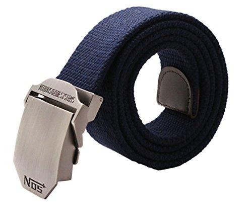 Meta-U - Fibbia cintura blu scuro Taglia unica