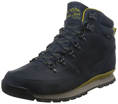 North Face M Back-To-Berkeley Redux Leather Scarpe da Camminata, Uomo, Multicolore (Blu/Urbnvy/Antqmsgn), 42 1/2