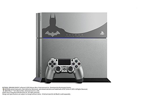 Console PlayStation 4 - steel grey + Batman Arkham Knight - édition limitée