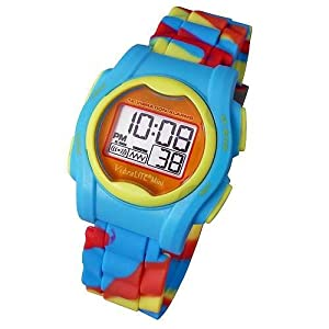Global VibraLITE MINI Vibrating Watch with Multicolor Silicone Band from Global Assistive Devices