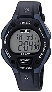 """Timex Men's T5H591 """"Ironman"""" Watch with Black Resin Band"""