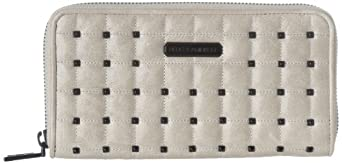 Rebecca Minkoff Large Zip S212M76C Wallet,Ecru,One Size