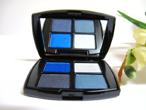 Lancome Color Design Eye Shadow Palette Regal Shaphire(sheen)/ All Made Up(shimmer)/ Little Blue Dress(shimmer)/ Splendid Sapphire(intense)** Travel size **