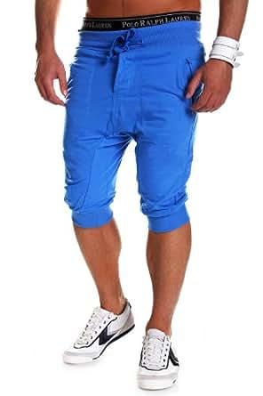 MT Styles - 297 - Bermuda coupe ample - Bleu - S