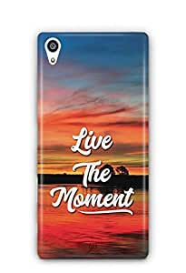 YuBingo Live the Moment Designer Mobile Case Back Cover for Sony Xperia Z5 Plus