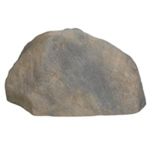 Extra large faux hollow landscaping rock for Large outdoor decorative rocks