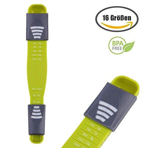 Scoop scoop, regolabile cucchiaino cucchiaino, ideale per la cucina e la cucina, proteine in polvere, spezie, medicina