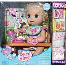 Baby Alive Real Surprises Doll Set Eats & Poops Talks
