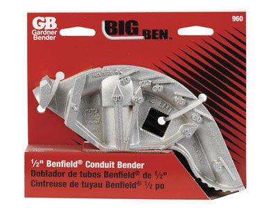 Gardner Bender 960 Big Ben Aluminum Conduit Hand Bender 1 2 EMT 3-11 16 Bend RadiusB0000YHRZC : image