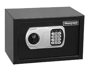 Honeywell 5101 Steel Security Safe, 0.31 Cubic Feet, Black