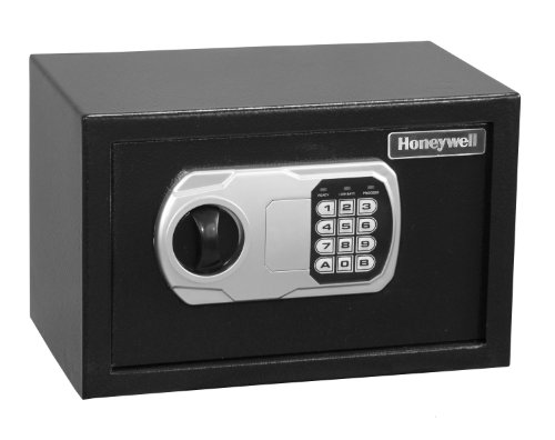 Honeywell Model 5101DOJ Approved Small Steel Security Safe 0.36 Cubic Feet