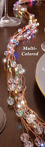 Micro Led Multi Colored Dot String Lights