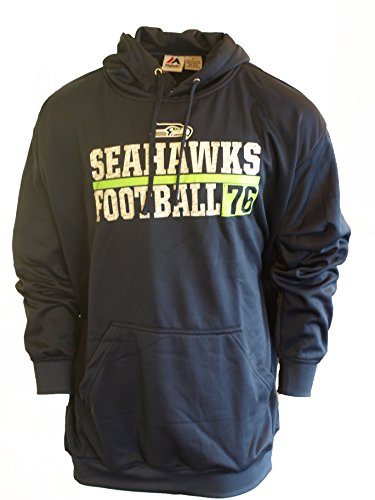 Majestic-Mens-Seattle-Seahawks-Fleece-Hoodie-Est-76-Big-and-Tall-Sizing
