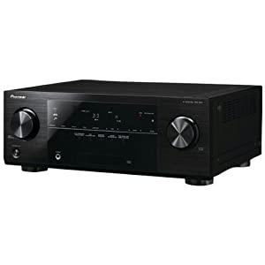 Pioneer VSX-822-K 400W 5-Channel A/V Receiver, Network Ready, Pandora, iPod/iPhone, Black