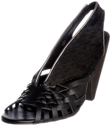 Ravel Women's Graphic Black Open Toe Rlp711 4 UK