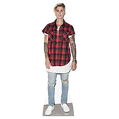 "Justin Bieber Purpose Cardboard Cutout Life Size Standup 72"" Tall SC2019"