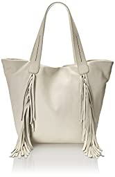Vince Camuto Shea Tote Shoulder Bag, Snow White, One Size