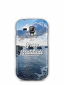 YuBingo Grow Gratitude Designer Mobile Case Back Cover for Samsung Galaxy S Duos