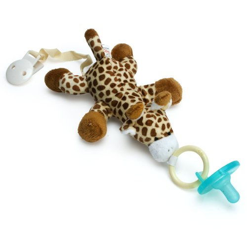 Paci-Buddy Giraffe - Plush Pacifier Holder & Clip