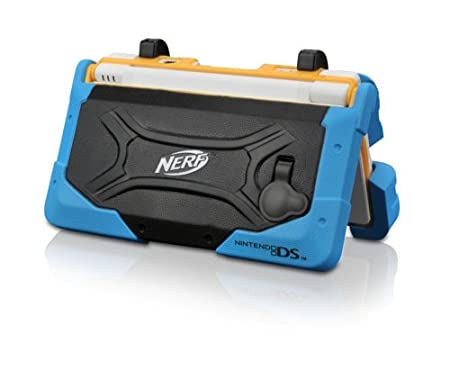 DSi Nerf Armor - Blue/Black