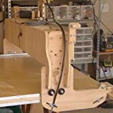 """CNC Routing Machine Kit - Routing Area: 4 foot X 8 foot - Version 4.3 """"Black Foot"""" by BuildYourCNC"""