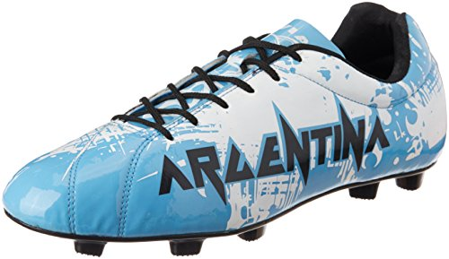 Nivia Destroyer Argentina Football Shoes, UK 8 (Sky Blue)  available at amazon for Rs.719