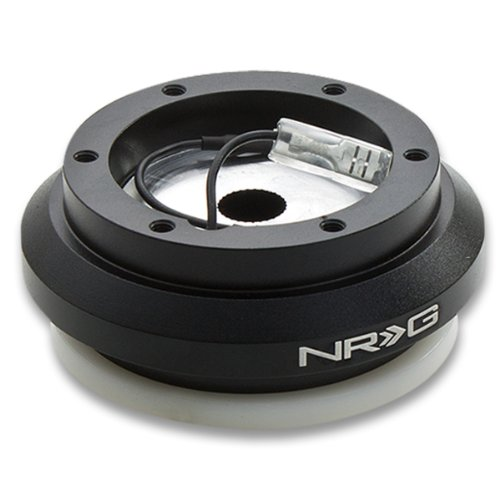 NRG SRK-130H Black Steering Wheel Short Hub Adapater For Honda Civic (EK9), S2000 & Prelude (Nrg Hub Adapter Honda Accord compare prices)