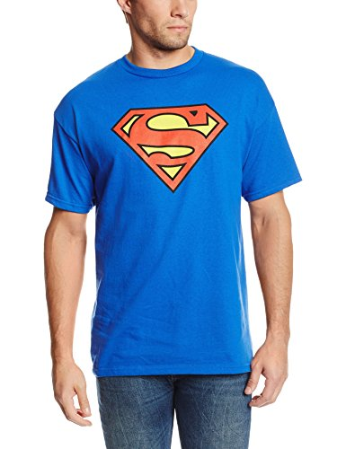 DC Comics Men's Superman Classic Logo T-Shirt