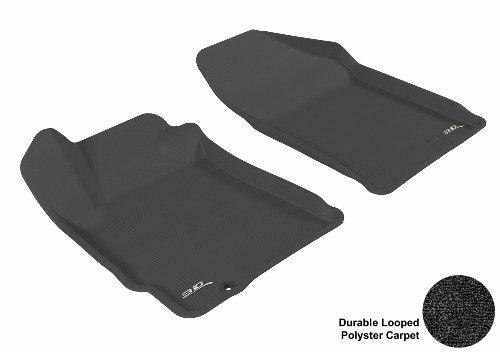 3D MAXpider U-ACE NISSAN ALTIMA 2007-2012 CPE/SDN CLASSIC BLACK R1 L1NS02412209 Floor Mat Floor Mats