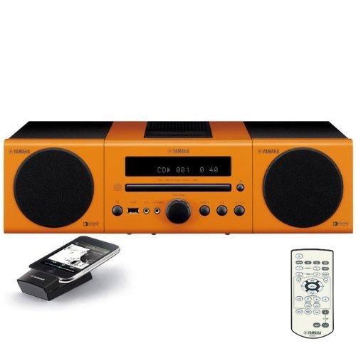 Yamaha MCR-140OR Micro Component System (Orange)