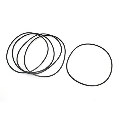 5pcs-135-mm-x-31-mm-anillo-de-uretano-flexible-o-poli-sealed-lavadora-negro