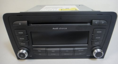 Genuine audi a3 chorus ii 2 double din cd radio stereo for Mueble 2 din audi a3